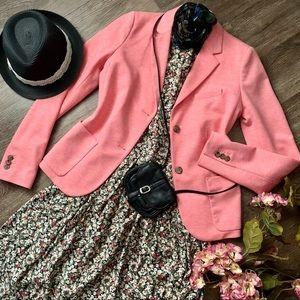 *$6.99 Shipping! Fantastic As-New Pink Gap Blazer!